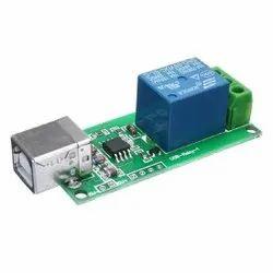 USB Control Module 1 Channel 5V Relay Module (No Need Driver)