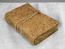 Leather Journal Vintage Rustic Deckle Edge Paper 5 X 7 Dairy 100% Handmade Paper