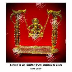 Gold Plated Ganesha Statues