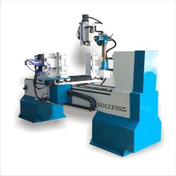 CNC Wood Lathe Machine with 4 Axis