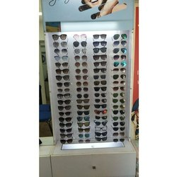 Acrylic white Eyeglass Display Stand, For Commercial, Size: 48 Inch X 35 Inch