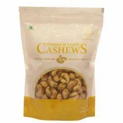 KULSWAMI FOODS Masala Roasted Cashew Nut, Packaging Size: 250 g, Packaging Type: Zip Lock Pouch
