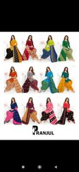 Formal Wear Multicolor Full Stitched Readymade Patiala Salwar Suit