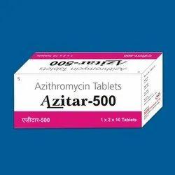 Azitar 500 mg Azithromycin Tablets