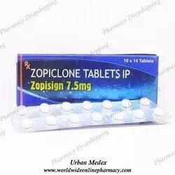 Zopisign 7.5 Mg Tablets