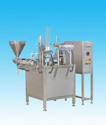 Technopac Fully Automatic Double Head Curd Cup Filling