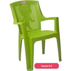 Green Plastic Baby Chair