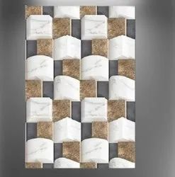 Gloss Ceramic Digital Wall Tile, Size: 30  * 60 (cm)