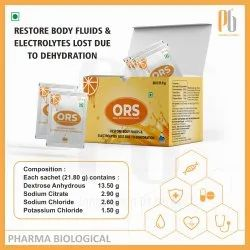 ORS (Oral Rehydration salts)