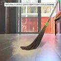 Zureni Floor Broom with Natural Soft No Dust Grass