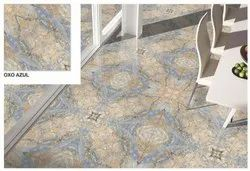 Kag Porcelain Oxo Azul Digital Vitrified Tile, Thickness: 8 - 10 mm, Size: 24x24 inch
