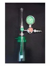 Oxygen Regulator With Flow Gauge