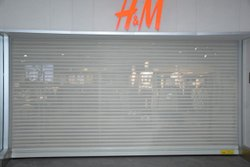 Commercial Transparent Rolling Shutter