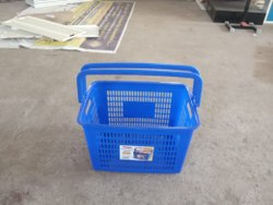 Supermarket Shopping Basket With Wheels
