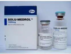Solu Medrol Methylprednisolone injection 1 gm