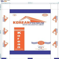 Korean Premium White Decorative Cement - 50 kgs