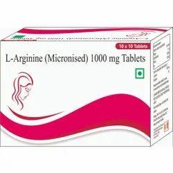 L- Arginine ( Micronised) 1000 Mg Tablets