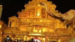Bahubali Wedding Stage