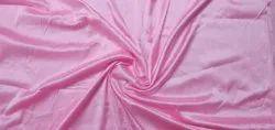 Plain 44inch Light Pink Silk Satin Fabric, GSM: 120, Handwash