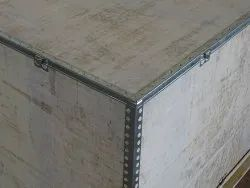 Plywood Industrial Wooden Packaging Boxes, Weight Holding Capacity(Kg): 301-1000 Kg