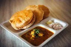 Indian Fresh Puri Bhaji, nashik, parcel