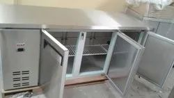 Stainless Steel Table Top Refrigerator or Freezer