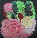 Fabric Manipulation Embroidery Work