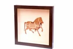Wooden 10X10 INCH WOOD CARVING FRAME, For Gift