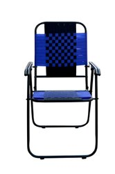 Multicolor Iron Folding Chair