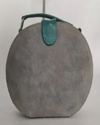MB 100% Leather Oval Ladies Bags