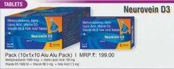 Methylcobalamin Alpha Lipoic Acid Vitamin D3 Vitamin B6 and Folic Acid Tablets