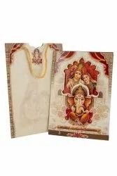 Lord Ganesh Paper Designer Wedding Card Printing Services, in Pan India