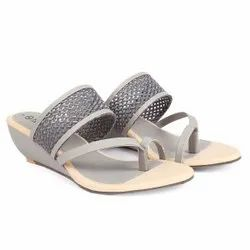 Faux Leather Multicolor LADIES SANDALS, For DAILY,CASUAL,PARTY WEAR, Size: 6 TO 11