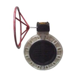 Gear Operated PP Butterfly Valve