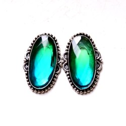 Tourmaline Gemstone Designer Earrings