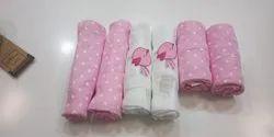 Printed Unisex Newborn Baby Towels, 0-3