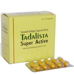 Tadalista super Active - yellow cap jel