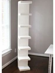 Wall Shelf Unit, White For Home & Office