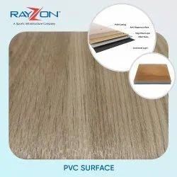 Rayzon Brown PVC Surface Flooring, Thickness: 4.5mm