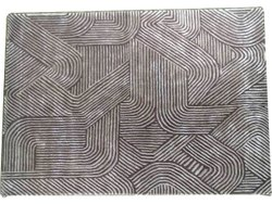 For Home Hand Tufted Fine Blended Silk Wool Carpet