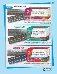 Losartan Potassium and Amlodipine Tablets IP