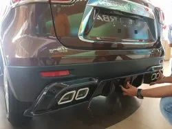 Black ABS Brezza Front And Rear Guard