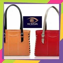 D2 Retails Brown Ladies Fashion Bag, For College