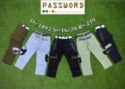 Kids Cotton Jeans