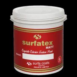 Surfatex Matt Exquisite Exterior Texture Paint, Packaging Type: Bucket, Packaging Size: 4 Litre