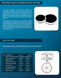 Silicone Disc Diffuser For Water Treatment