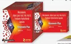 Mecobalamin Alpha Lipoic Acid Folic Acid Pyridoxine Hydrochloride Capsules