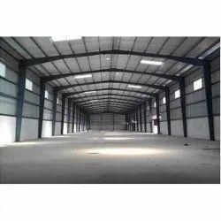 Mild Steel Prefab Industrial Roofing Shed