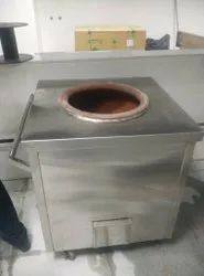 Stainless Steel Square SS Tandoor, For Commercial