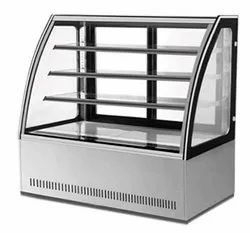Curved Glass Cold Showcase
